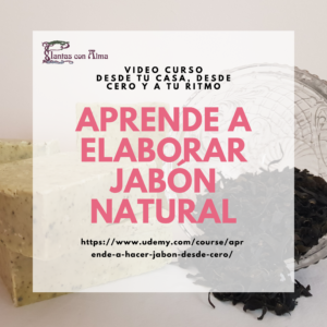 Aprende a elaborar jabón natural