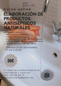 Elaboración de productos antisépticos naturales