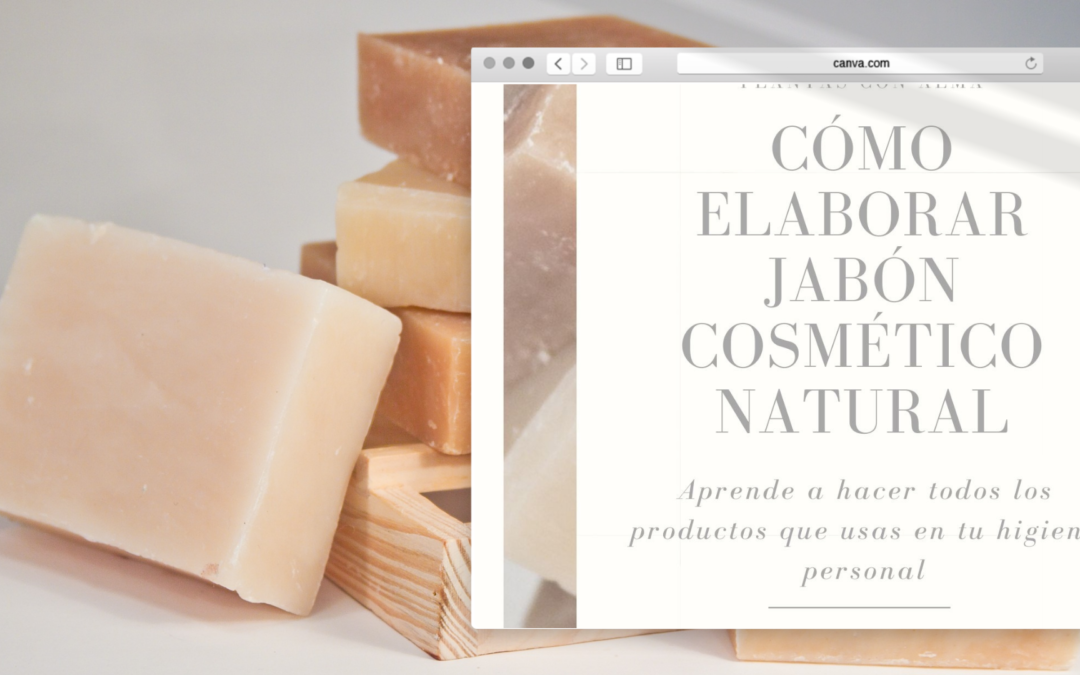 Cómo elaborar jabón cosmético natural